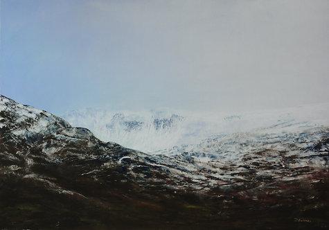 Carnedd Dafydd in Snow
