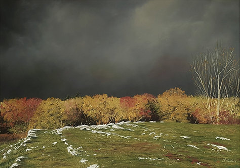 Autumn Storm at Loggerheads