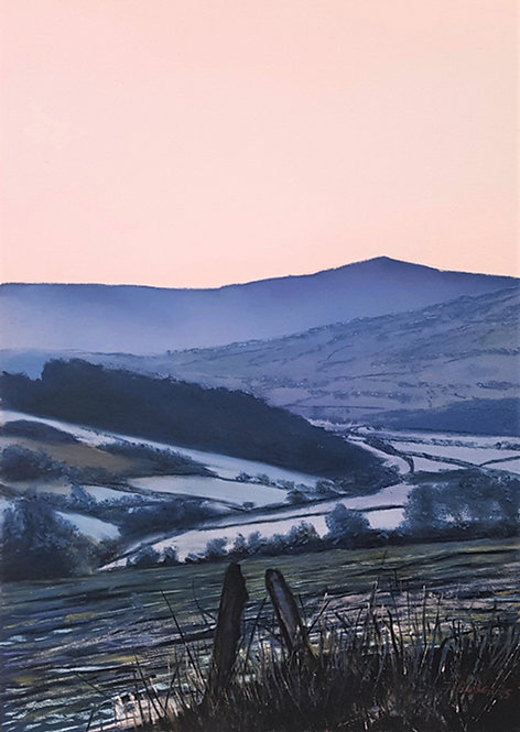 Moel Famau Morning (prints available)