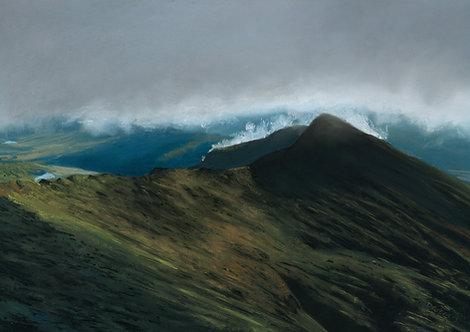 Morning Clouds Over Y Lliwedd