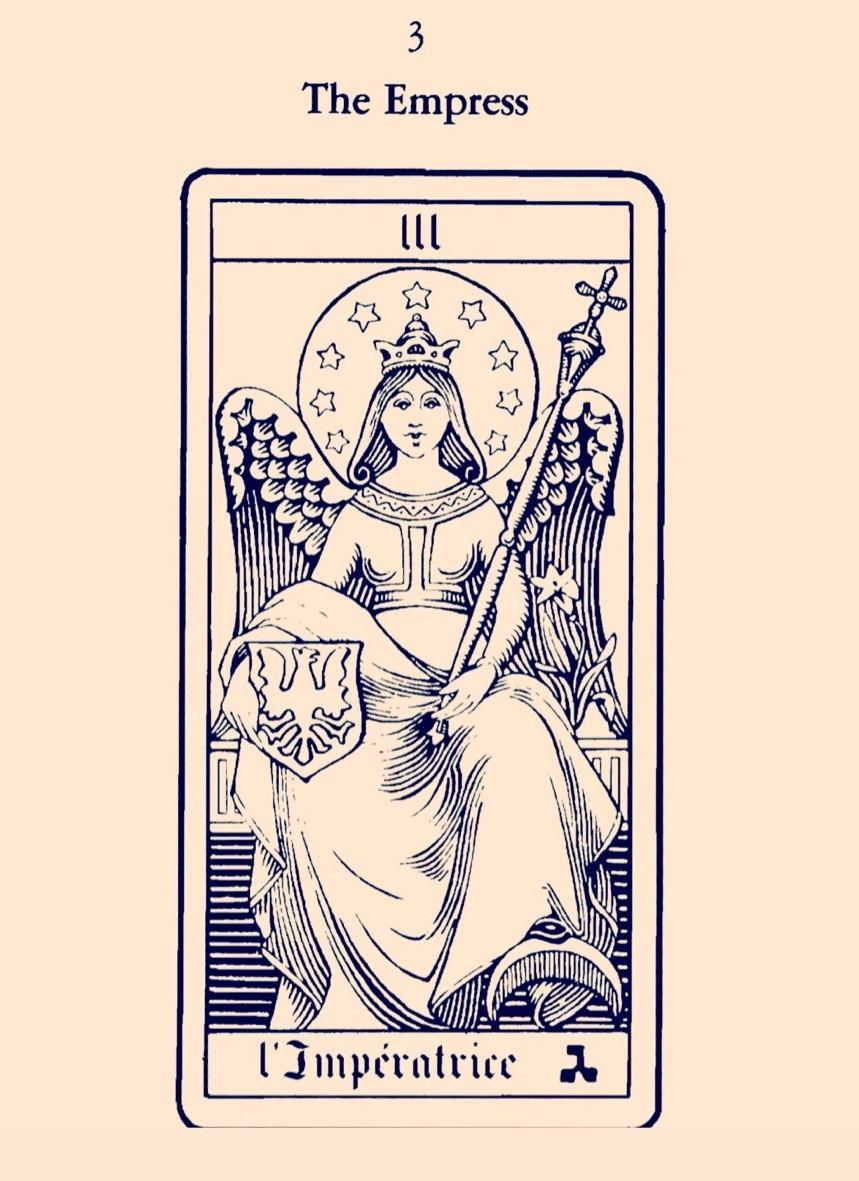 A Imperatriz - Tarot Oswald Wirth