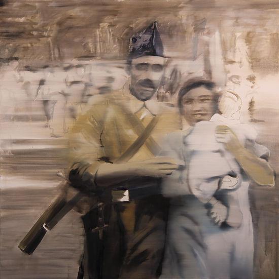 francisco rodriguez del canto, biographie, delcanto, peintre, artiste, peinture, huile sur toile, combattants, espagne, guerre, humans