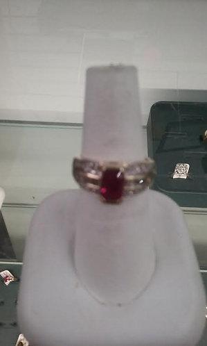 Vintage Ruby & Diamond