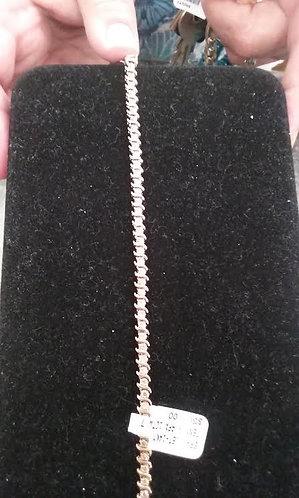 14 ky Ladies Tennis Bracelet
