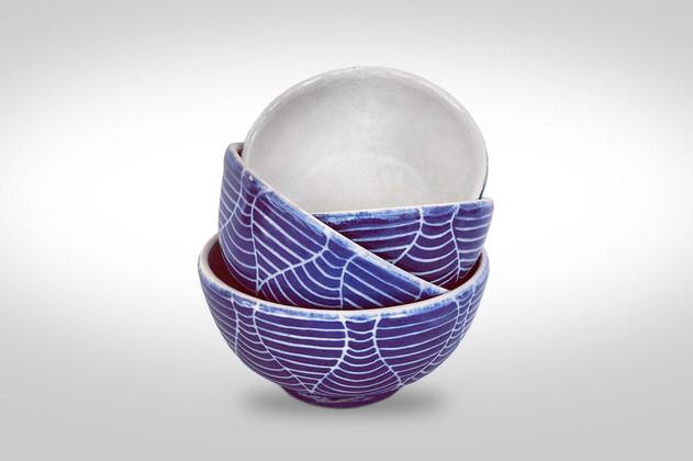 "4"" bowls wine glass design"