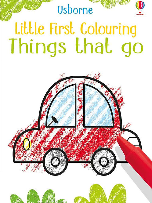 Little Coloring: Things That Go