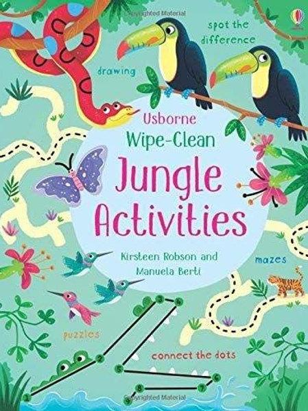 Wipe-Clean: Jungle Activities