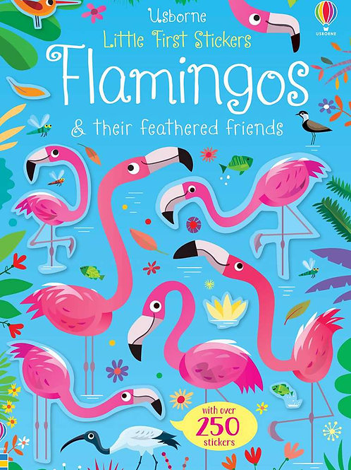 Little Stickers: Flamingos