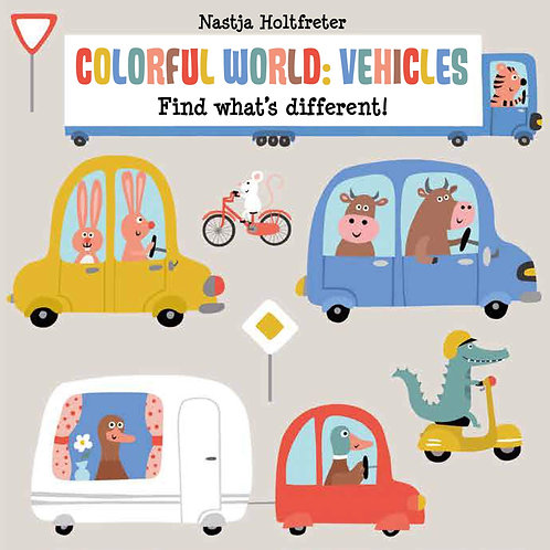 Colorful World: Vehicles