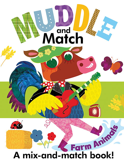 Muddle and Match: Farm Animals