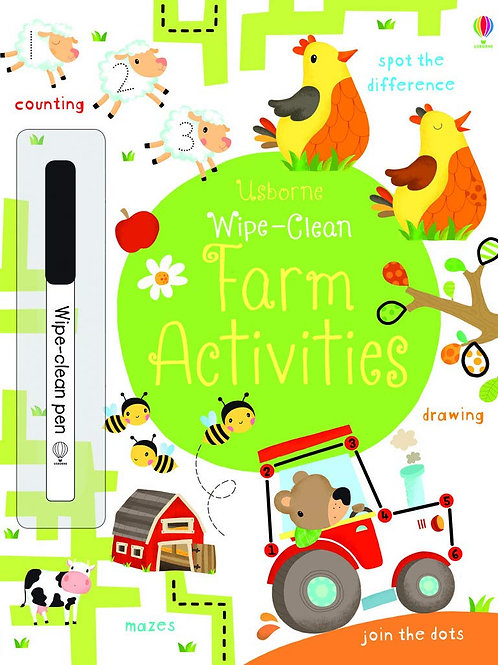 Wipe-Clean: Farm Activities