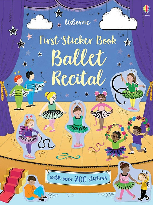 First Sticker Book: Ballet Recital