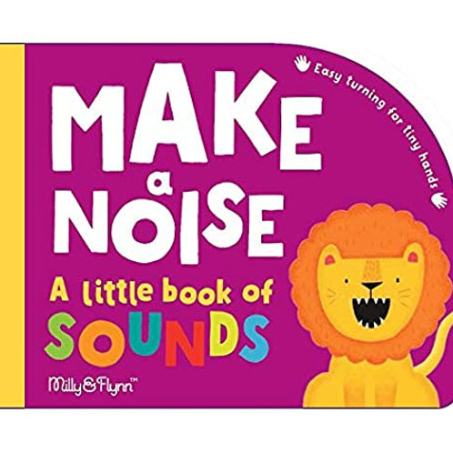 Make a noise: A little book of sounds