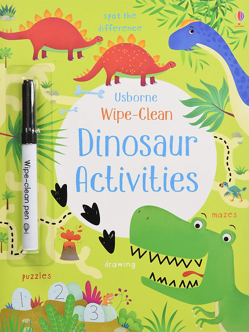 Wipe-Clean: Dinosaur Activities