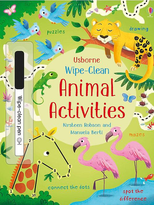 Wipe-Clean: Animal Activities