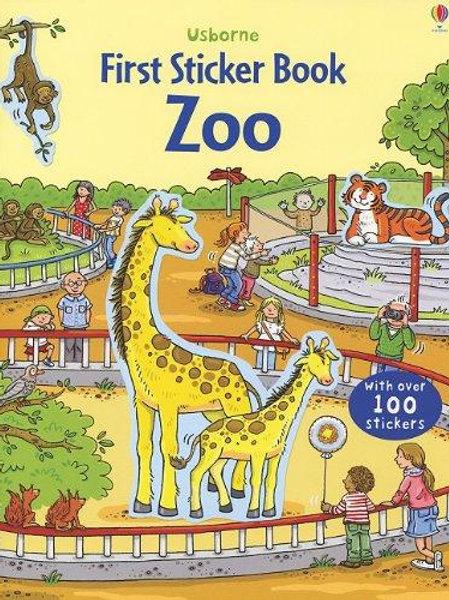 First Sticker Book: Zoo