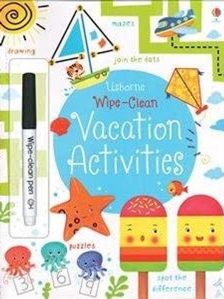 Wipe-Clean: Vacation Activities