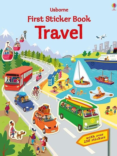 First Sticker Book: Travel