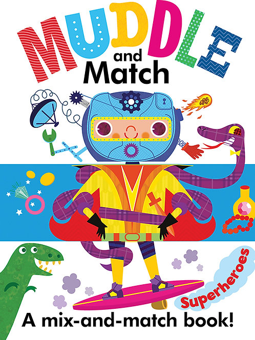 Muddle and Match: Superheroes