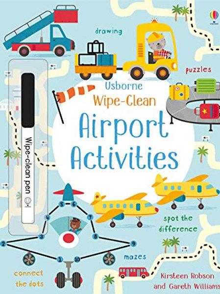 Wipe-Clean: Airport Activities