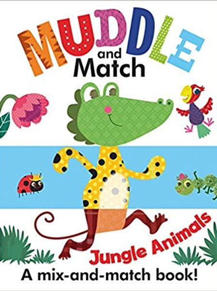 Muddle and Match: Jungle Animals
