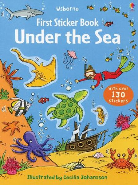 First Sticker Book: Under the Sea