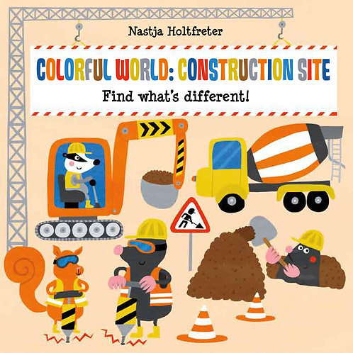 Colorful World: Construction Site
