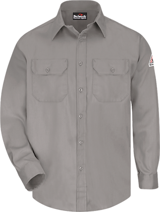 grey bulwark shirt ComfortTouch Excel Flame Resistant
