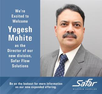 Safar Welcomes Yogesh Mohite