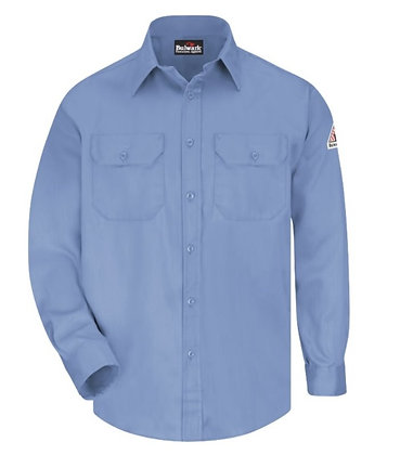 light blue bulwark shirt ComfortTouch Excel Flame Resistant