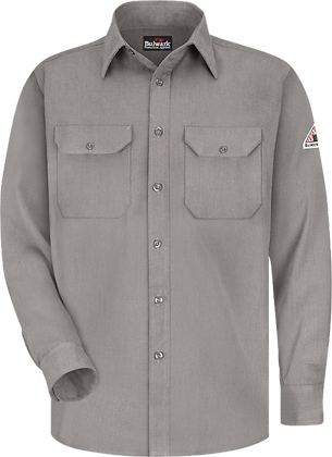 grey bulwark shirt CoolTouch 2 Flame Resistant