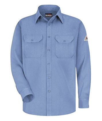 light blue bulwark shirt CoolTouch 2 Flame Resistant