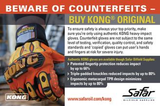 Beware of Counterfeits—Buy KONG Original