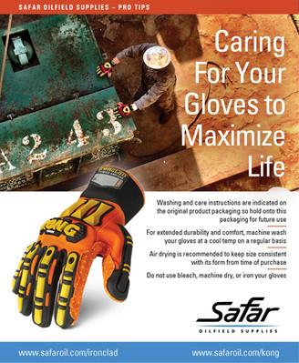 Safar Pro-Tips | Glove Care