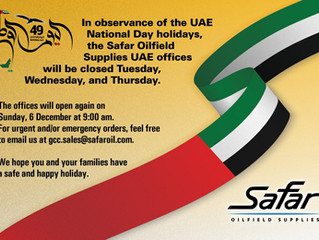 UAE National Holidays
