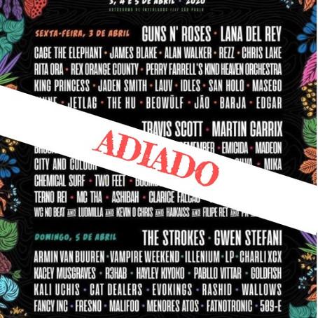 Lollapalooza Brasil adia evento por causa da Covid-19