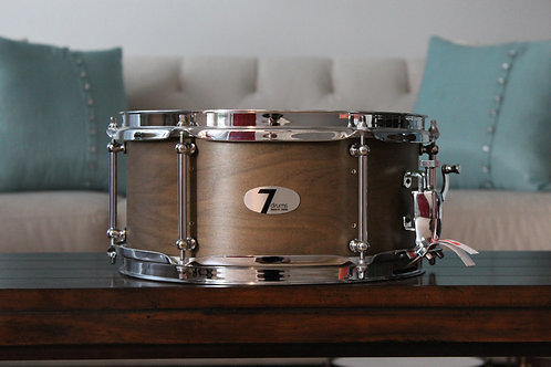 "6"" x 12"" 7drums Custom Snare Drum - Texas Aged"