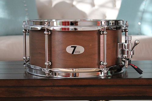"6"" x 12"" 7drums Custom Snare Drum - Texas Aged Mocha Stain"