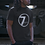 Thumbnail: 7drums Logo Tee - Crew Neck Black