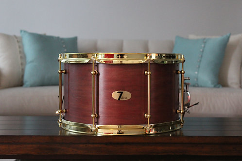"8"" x 14"" 7drums Custom Snare Drum - Texas Aged Red"