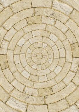Circular Stone Floor
