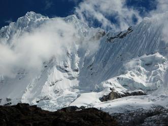The Cordillera Blanca, Peru's trekking and mountaineering mecca