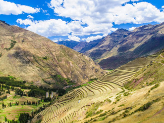 Pisac, yet another of the Sacred Valley's breathtaking Inca sites