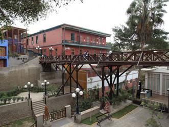 Barranco, Lima's bohemian neighbourhood overlooking the Pacific