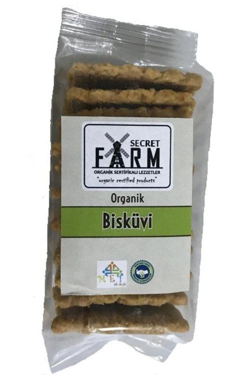 Secret Farm Organik Sade Bisküvi 80 Gr.