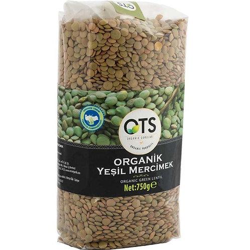 OTS Organik Yeşil Mercimek 750 Gr.
