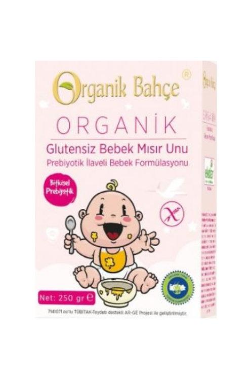 Organik Bahçe Organik Glutensiz Bebek Mısır Unu 250 Gr.