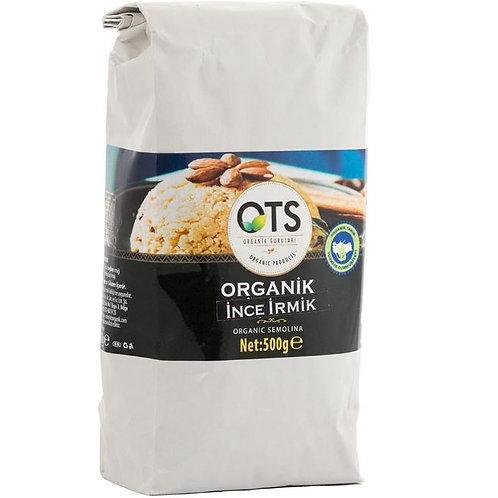 OTS Organik İrmik 500 Gr.