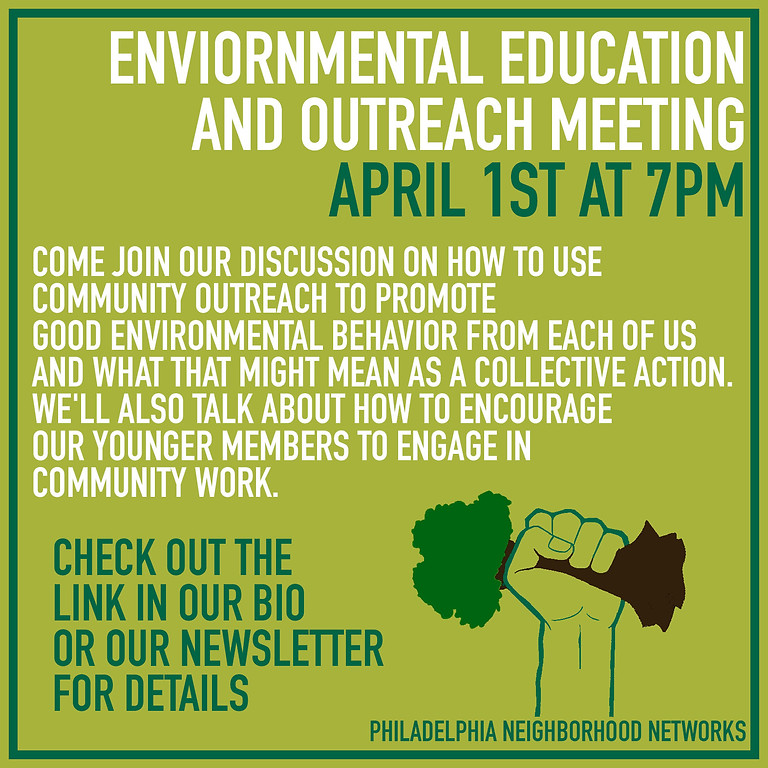 Environmental Outreach Working Group Meeting