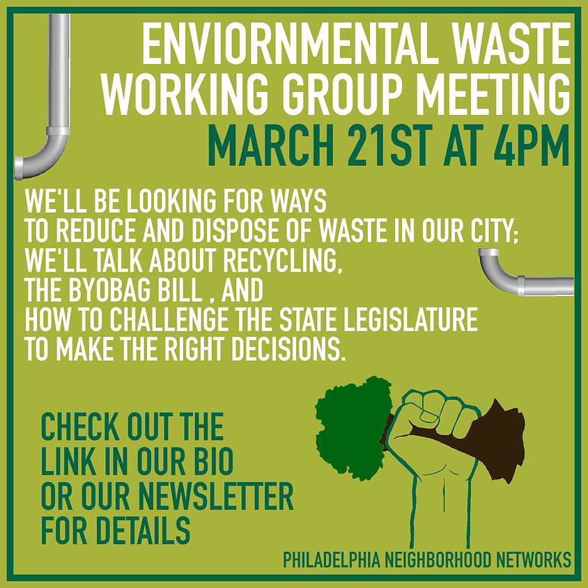 Waste Working Group Meeting